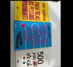 3 livros novos