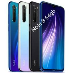 REDMI NOTE 8 64GB/ NOVO, PRONTA ENTREGA
