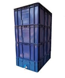 Composteira / Minhocário Grande 136,5 L + Minhocas