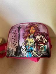 Mochila e Lancheira - Monster High - Usadas poucas vezes!