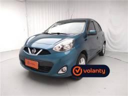 Nissan March 1.6 sv 16v flex 4p xtronic