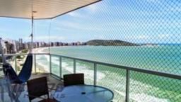 Cobertura duplex de frente para o mar à venda com 5 Suítes na Praia do Morro Guarapari-ES