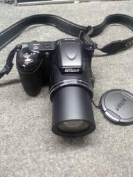 Câmera Nikon 16Mp, Semi-profissional, estado de nova, acompanha bolsa!
