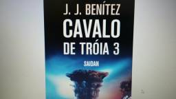 Livro Cavalo de Tróia Volume 3 J.J.Benitez