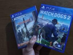 Watch Dogs e The Division 2 - 40$ cada - Aceito trocas