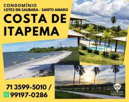 Excelente loteamento, praia exclusiva, Costa de Itapema, com Infraestrutura