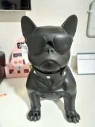 Caixinha de som com formato de cachorro