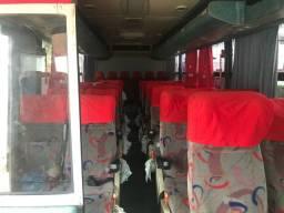 Interior microônibus executivo