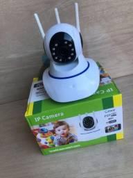 Câmera de segurança HD 720p controle pelo celular pelo aplicativo