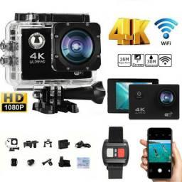 Camera de ação 4k com - wi fi- go pro - pronta entrega !