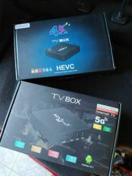 HEVC TV BOX 64 GB - 5G - 8 RAM