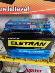 Bateria eletran 60 amperes 12 meses de garantia