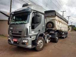 Caminhão Iveco conjunto caçamba l