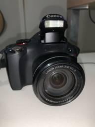 Canon Powershot SX 40 HS + Case
