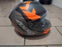 Vendo capacete Axxis n: 59/60 Estado d novo !!
