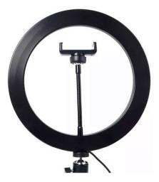Lês Ring light kit iluminador 26cm + tripé
