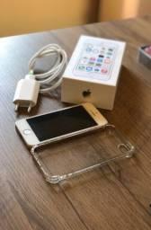 iPhone 5s 16Gb Modelo A1457 Dourado Original com Biometria