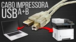 Cabo Para Impressora AB Universal