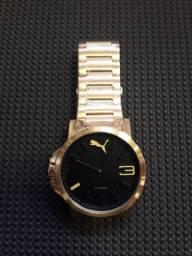 Relógio Puma Dourado ( Novo )