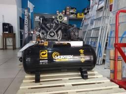 Compressor 10PCM - 100L Vortex - Monof. - Pressure - A Vista
