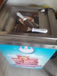 Máquina de sorvete de chapa