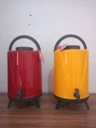 Botijão térmico e caixa térmica ( produtos novos)