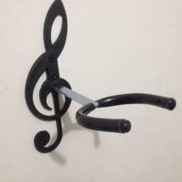 Suporte de parede para instrumentos com corda