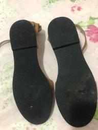 Sandália rasteirinha (nova)