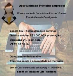 Vaga Consultor telemarketing