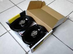 Alto falantes 6x9 para tampão (Triaxiais, 120wRMS) Novos, na embalagem