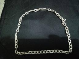 Cordão de prata pura 102 g
