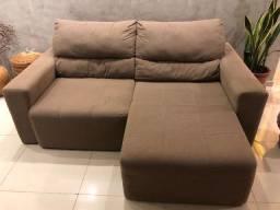 Sofá retrátil reclinável - 3 lugares - 2m x 1,10m