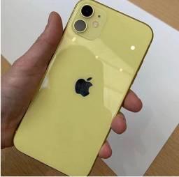 IPhone 11 amarelo 128 G