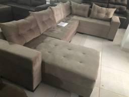 Sofa canto com chase 3.20x2.0 novo