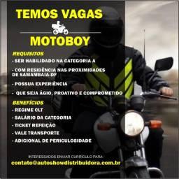 Vaga Motoboy a moto e da empresa!!!
