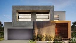 Casa moderna 5 a. garant, na planta, até 90% financ,pisc+gourmet= Proj Exclu 150mts