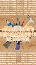 Montagem ou desmontagem de móveis em geral agende já a sua