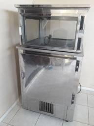 Freezer com expositor