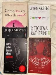 4 livros por 50 reais