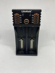 Liitokala Lii-202 5V 2a Carregador de Bateria para 18650 26650 16340 14500