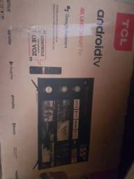 TV TCL 55 4k smart Android