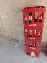 Garrafas de coca cola recicláveis