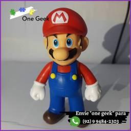Action Figure Mário - dos jogos da Nintendo