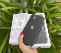 IPhone 11 128gb Preto ZERINHO COMPLETO (NOTA FISCAL GARANTIA)