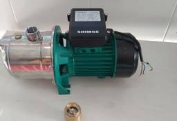 bomba de agua autoaspirante 1 cv 127v ou 220 v