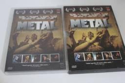 DVD duplo documentário 'Metal: Uma jornada pelo mundo do Heavy Metal'