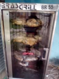 Máquina de assar frango e carnes