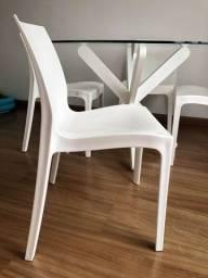 Conjunto com 4 cadeiras Tok&stok (leia bem a descrição)