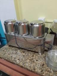 Cafeteira esterilizador 03 bules 110v