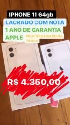 IPHONE 11 64gb lacrado - OPORTUNIDADE